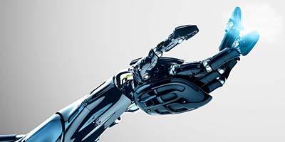 Robotin käsi - Hand of robot.